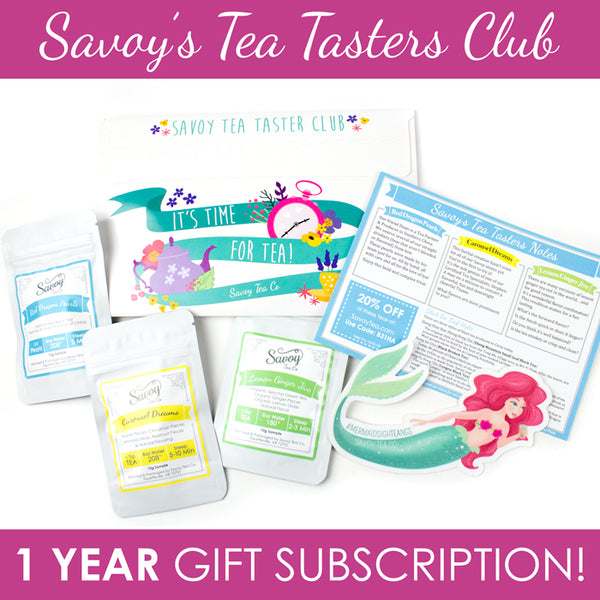 Savoy Tea Tasters Club - One Year Gift Subscription!