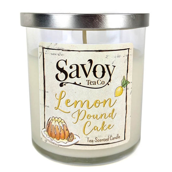 Tea Candle 8oz - Lemon Pound Cake