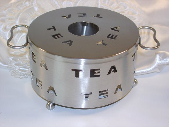 Warmer Stainless Tea Word