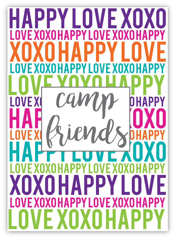 Address Book - Happy Love XOXO Too