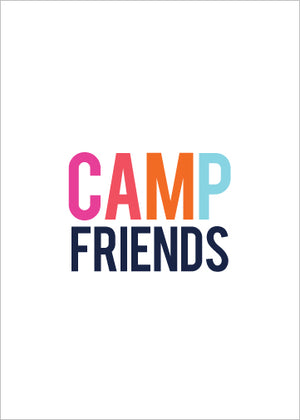 Bold Multi - Camp Friends Address Book