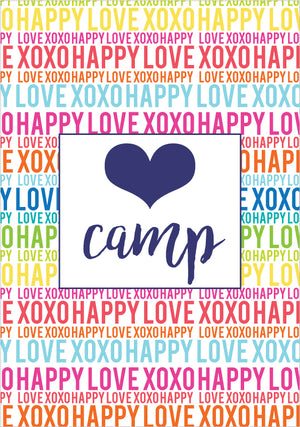 Happy Love XOXO Multi Clipcase
