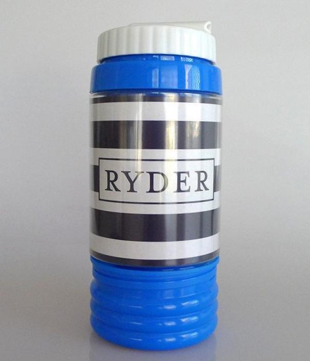 Kids Water Bottle - Stripes