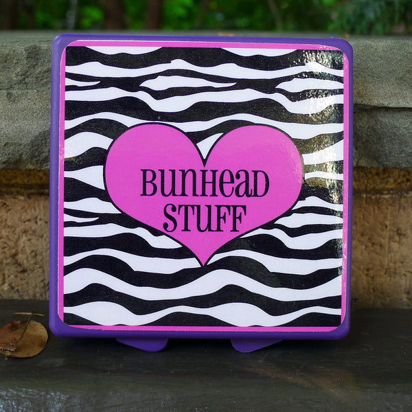 Purple Mini Box - Zebra