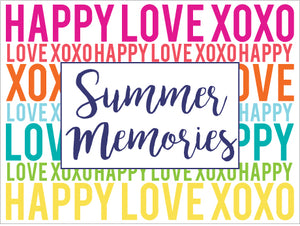 Happy Love XOXO Multi Photo Album
