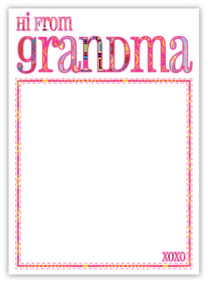 Groovy Grandma Pad (Limited Quantities)