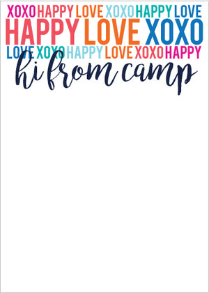 Happy Love XOXO Multi Camp Pad
