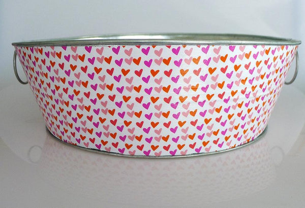 Round Bin - Little Hearts