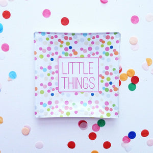 Little Things Confetti Mini Tray