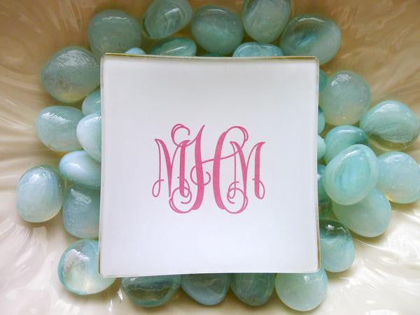 Mini - Fancy Monogram (more colors)