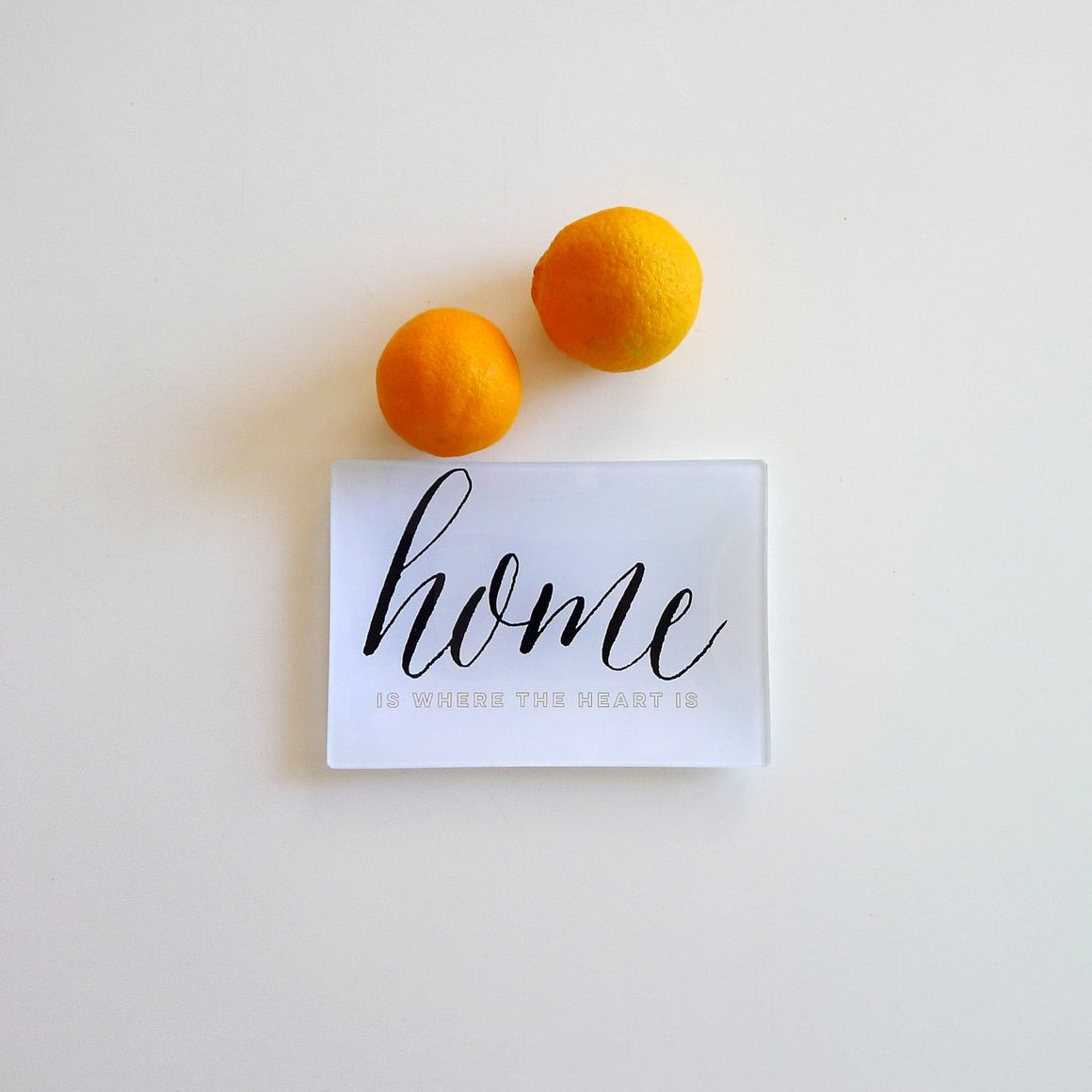 Home is Where the Heart is Small Trinkets Tray