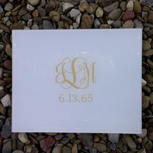 Big - Fancy Monogram + Date (any color)