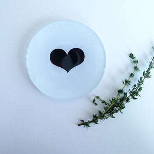 Heart Mini Round Tray