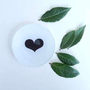 {New} Mini Round - Heart