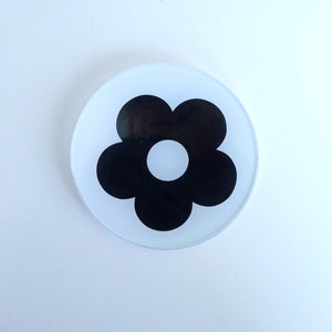 Mod Flower Mini Round Tray