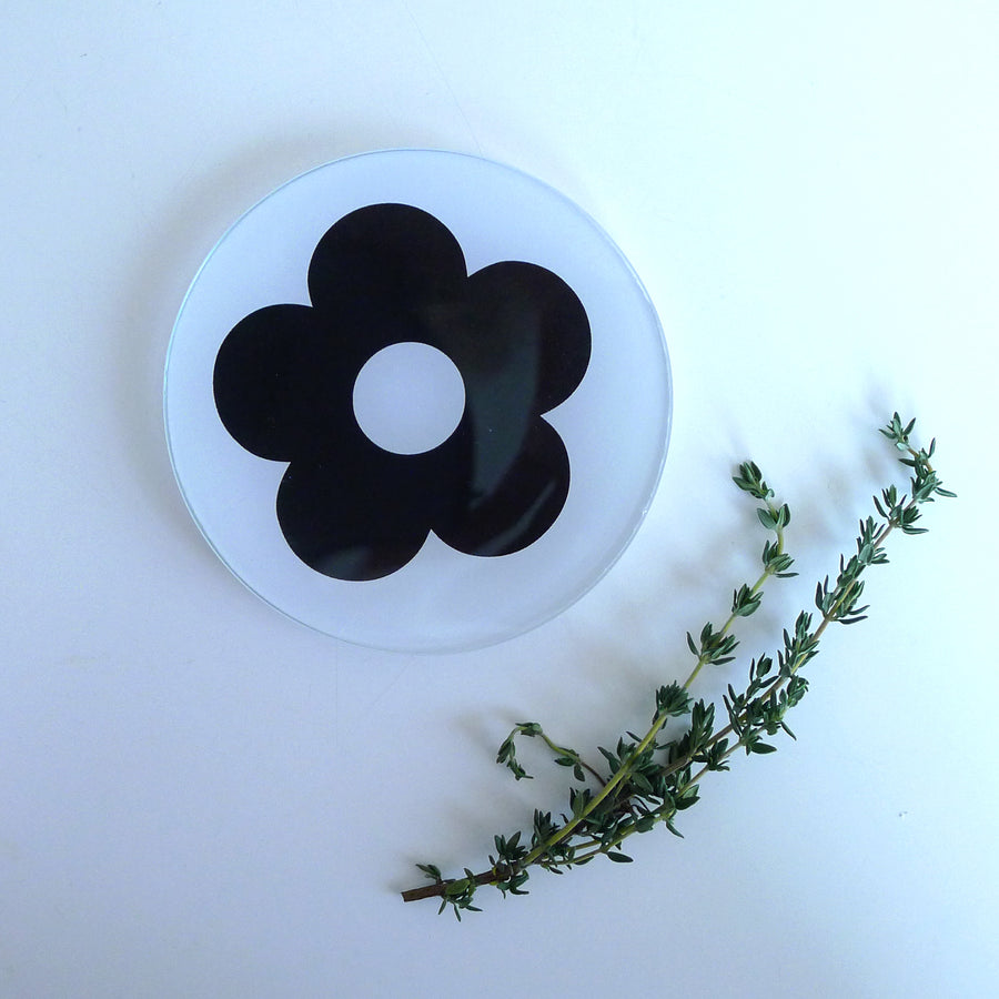 {New} Mini Round - Mod Flower