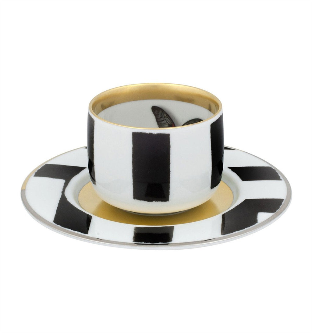 Sol Y Sombra Coffee Cup & Saucer