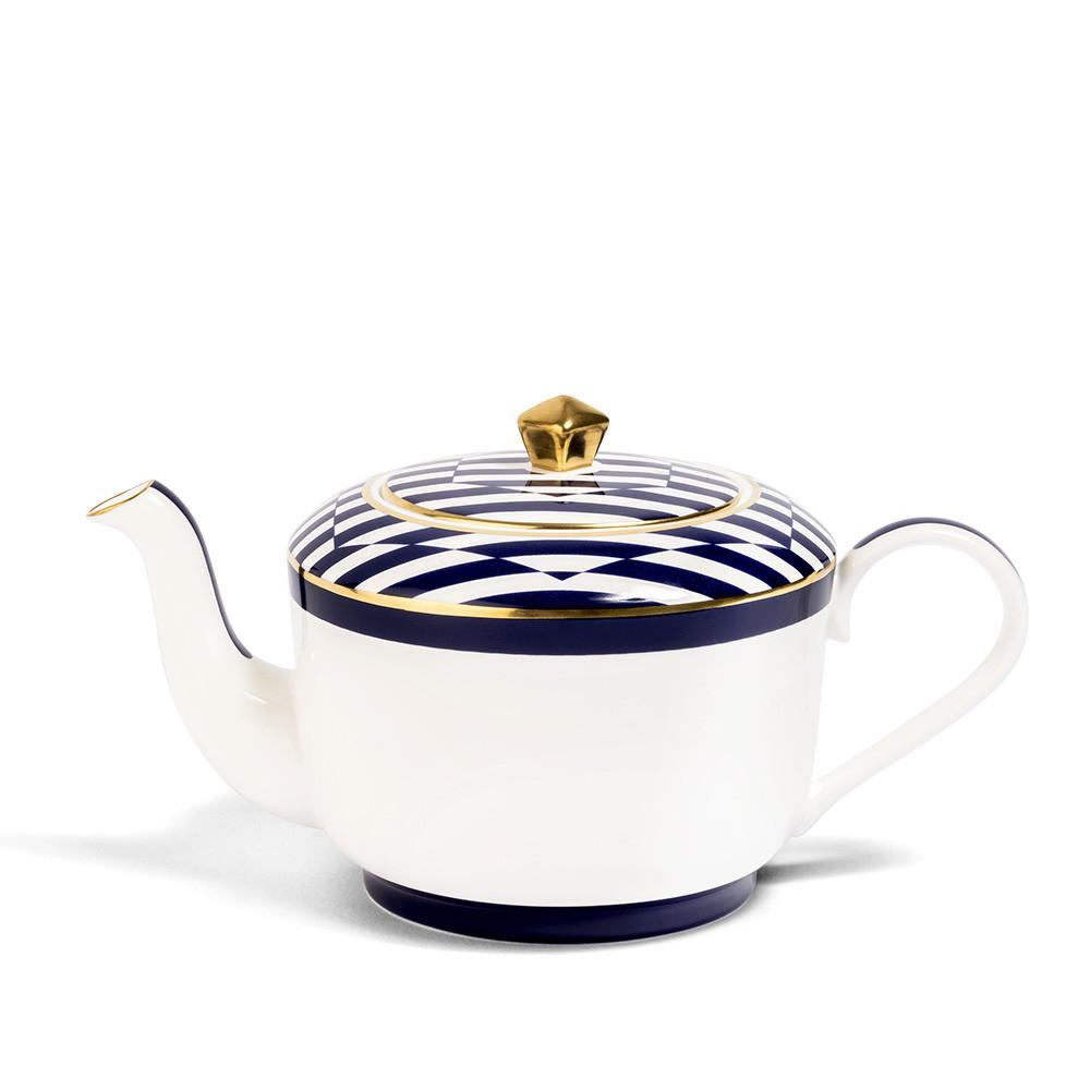 Superstripe Teapot