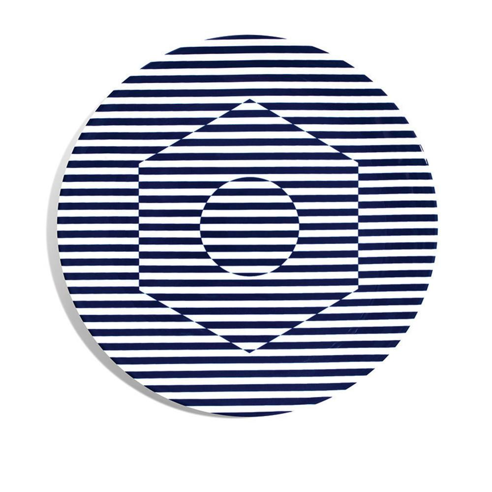 Superstripe Dinner Plate