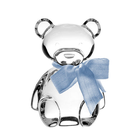 Crystal Teddy Bear in Blue