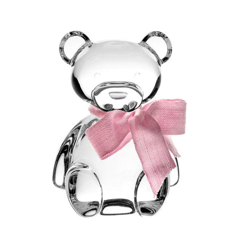 Crystal Teddy Bear in Pink