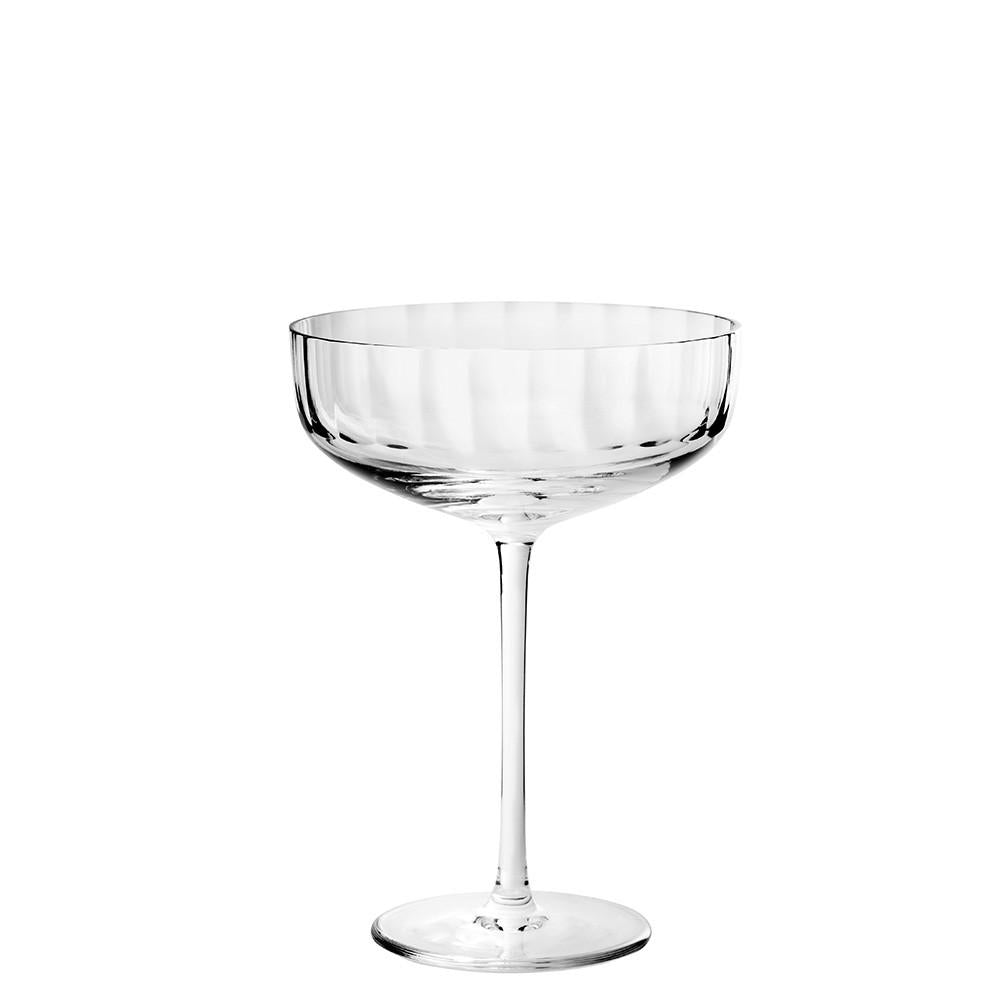 Fluted Large Coupe