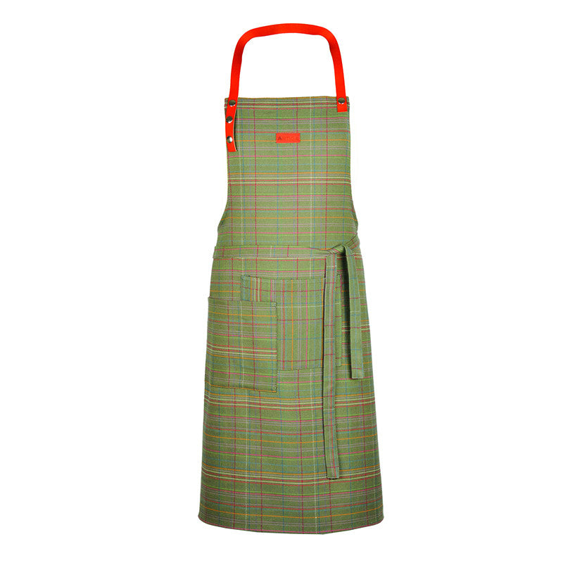 Artiga Apron with Leather Tie