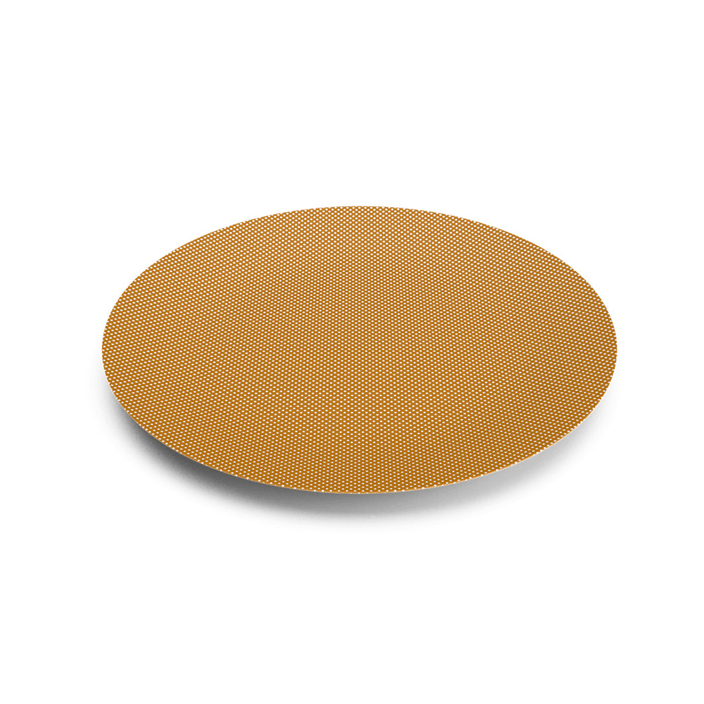 Eye Light Gold Dinner Plate v2