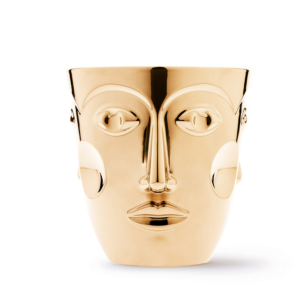 Faces Champagne Cooler - Gold