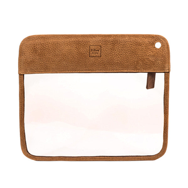 Gold Nubuck Toiletry Bag