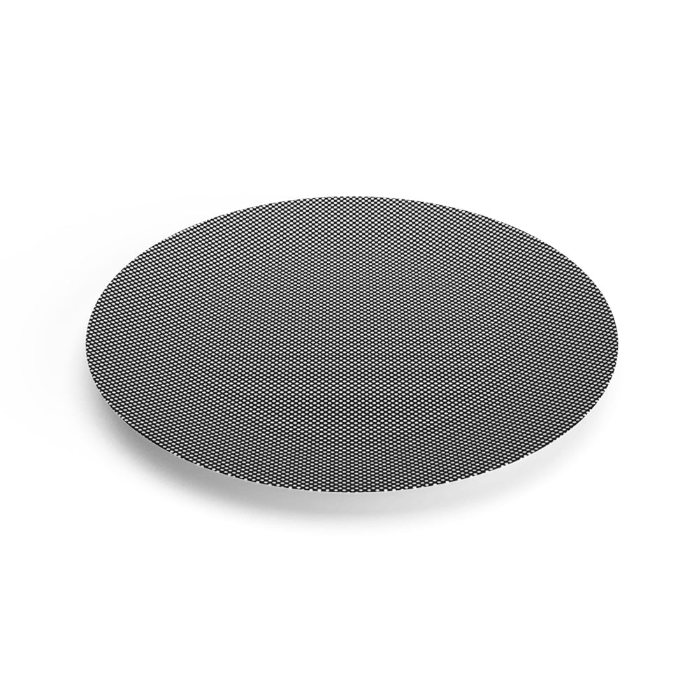Eye Light Black Dinner Plate v2