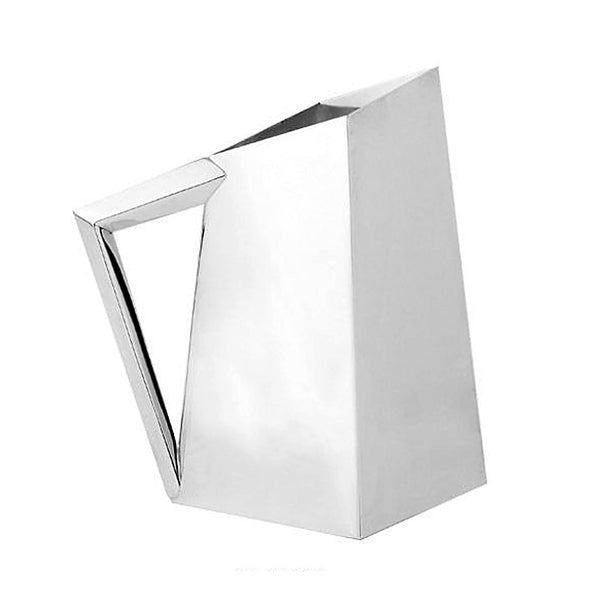 Angle Pitcher Silver Plated