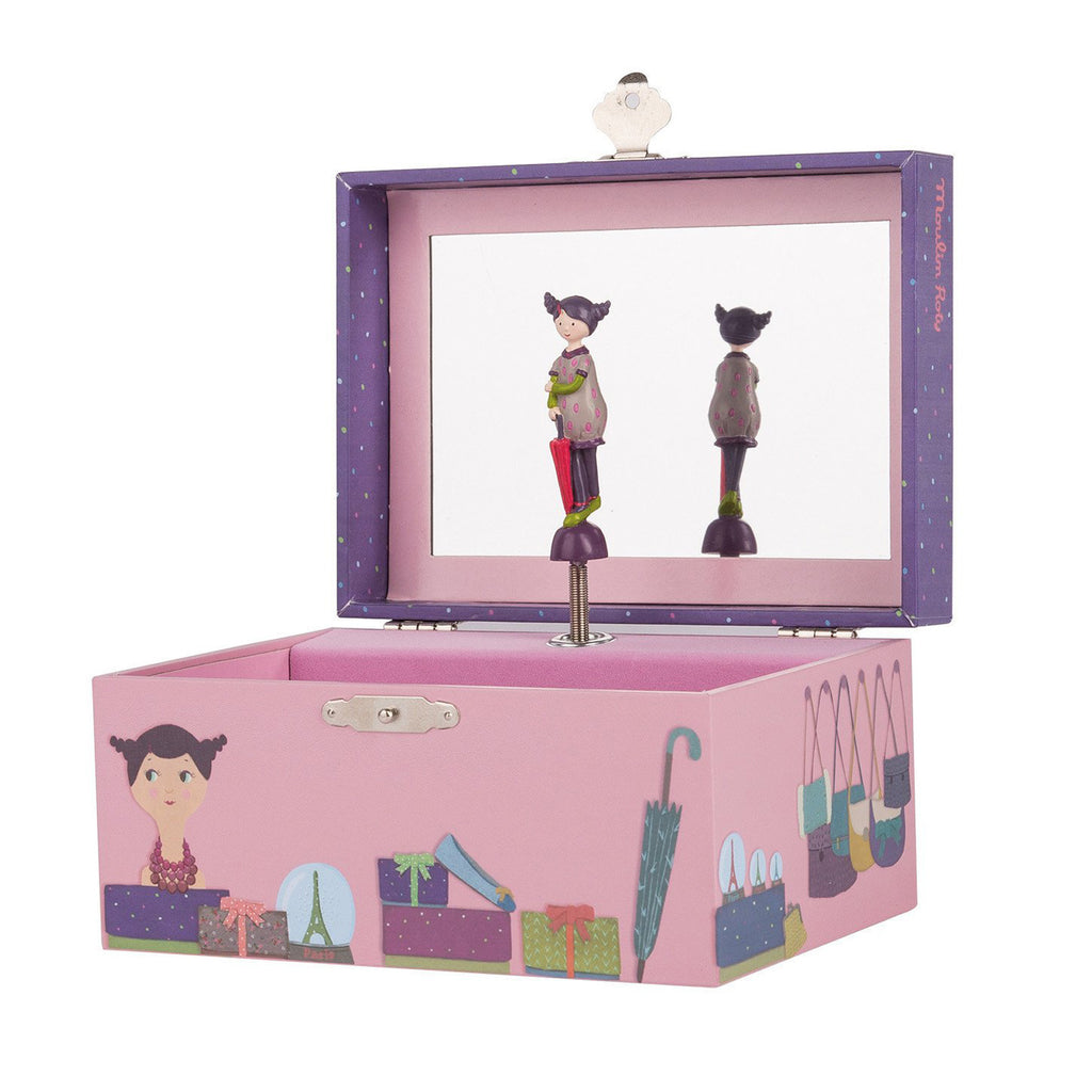 Les Parisiennes Music Jewelry Box