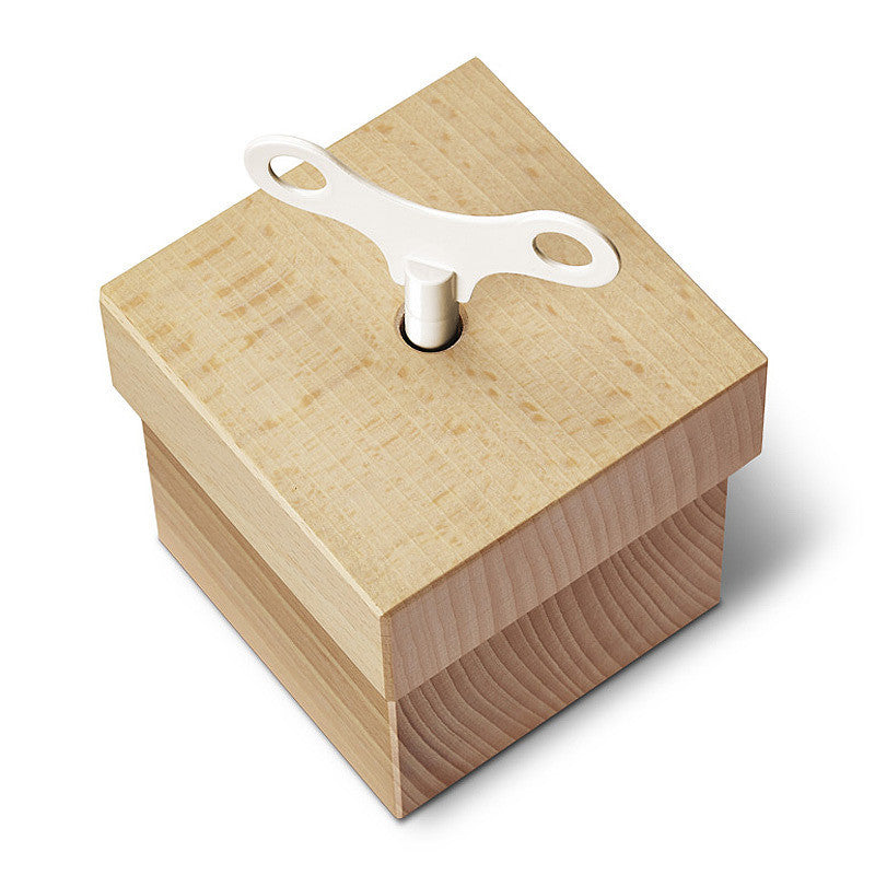 Beech Wood Music Box