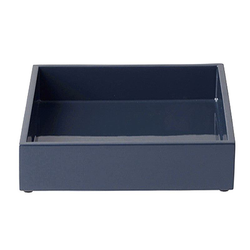 Lacquer Tray In Navy