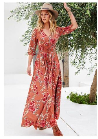 Jaase 'Indiana' Maxi Dress in Dulcie Print