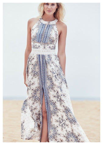 Jaase 'Endless Summer' Maxi Dress in Gemstone Print