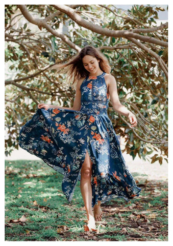 Jaase 'Endless Summer' Maxi Dress in Mika Print