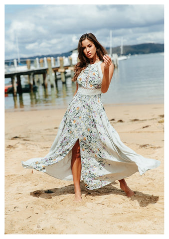 Jaase 'Endless Summer' Maxi Dress in Devon Print