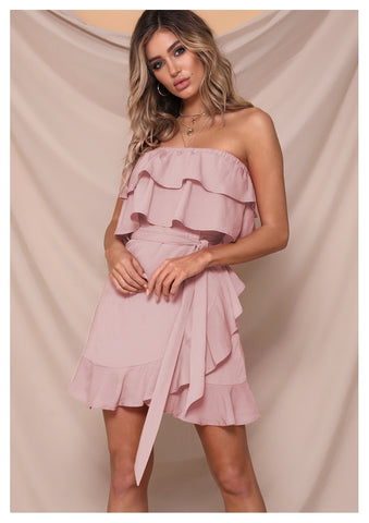 Runaway 'While It's Hot' Mini Dress in Pink