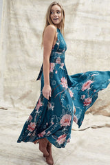 Jaase 'Endless Summer' Maxi Dress in Absynthe Print