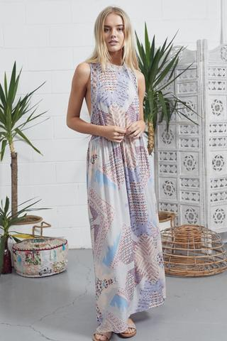 Jaase 'Patricia' Maxi Dress in Magic Moments Print