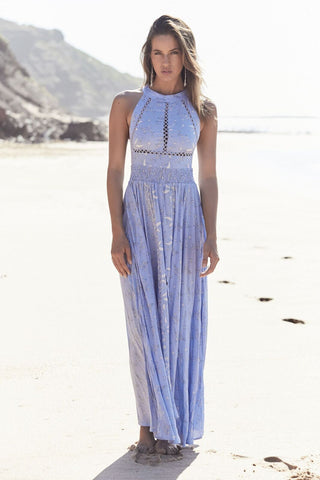 Jaase 'Endless Summer' Maxi Dress in Delphinian Print