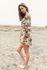 Jaase 'Tatum' Playsuit in Garden Print