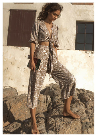 Seven Wonders 'Mi Amour' Pants in Sand Spot