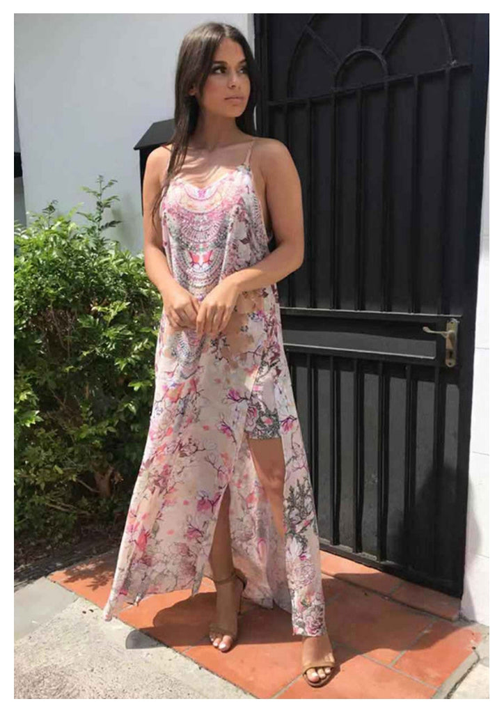 Gigi & Ella 'Siren' Maxi Dress in Blossom