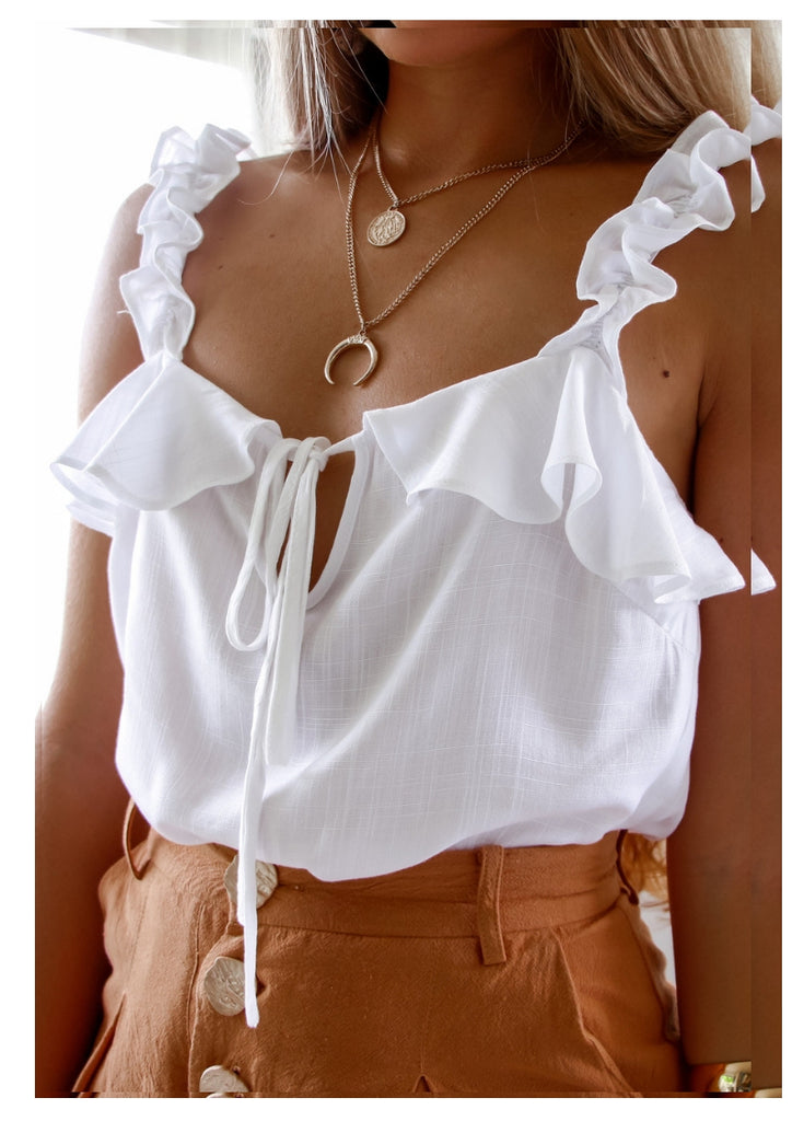 Seven Wonders 'Ollie' Cami Top in White