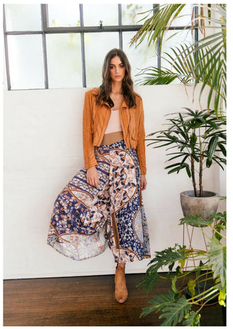 Jaase 'Madison' Pants in Yoko Print