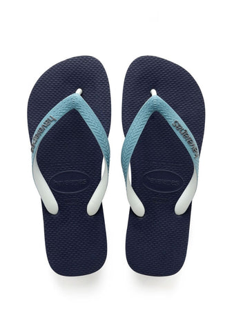 Havaianas 'Top Mix' in Navy / Mineral Blue