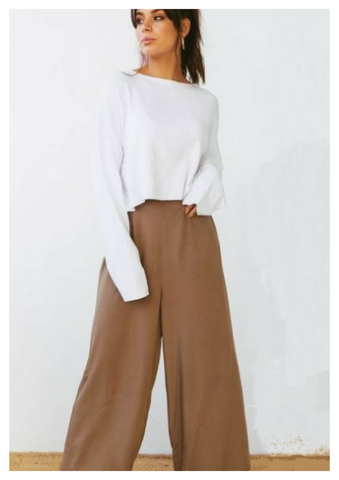 SNDYS 'Boardwalk' Pants in Khaki